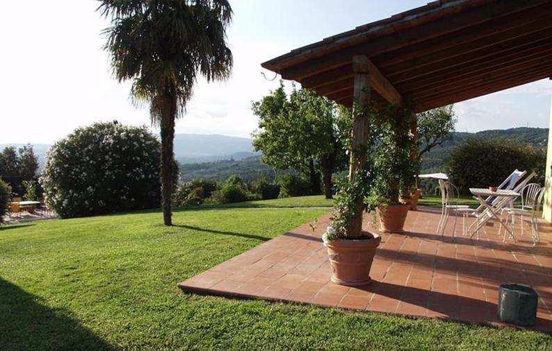 Privat terrasse på Casa Italia. Billede er fra www.localliving.dk