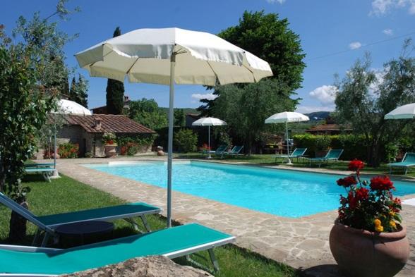 Poolen på Il Poderino. Billede er lånt af Vacanceselect